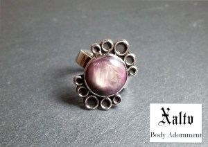 Xaltv ring for The Queen's Viper book release party
