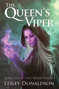 The Queen's Viper front cover