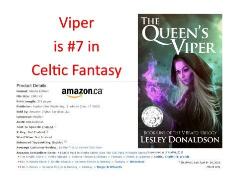 The Queen's Viper Amazon Canada Rank