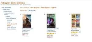 Amazon best seller fantasy, Queen's Viper bestseller