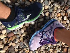 I am a Mizuno runner...and so is my boyfriend!