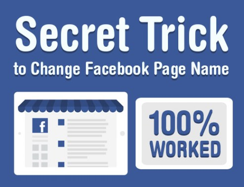 How to Change Facebook Page Name Easily 2019
