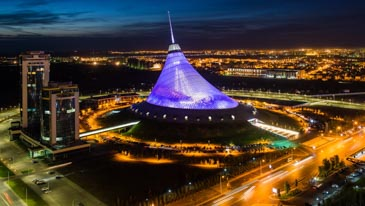Khan Shatyr Entertainment Center - Things To Do In Astana, Kazakhstan