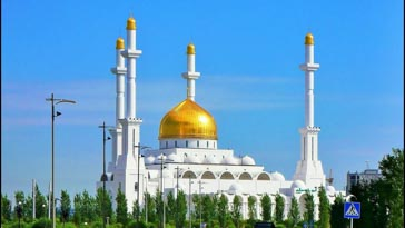 Nur-Astana Mosque - Things To Do In Astana, Kazakhstan