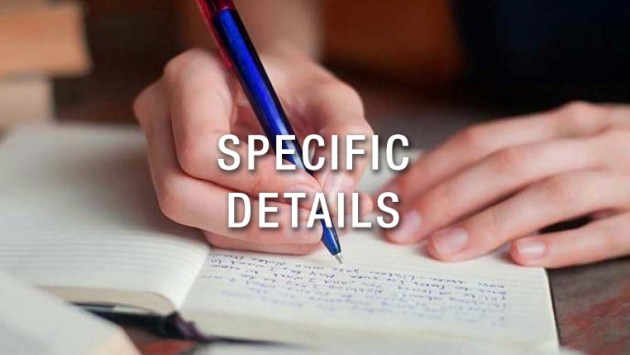 Specific Details in Descriptive Text (Sample Questions & Answers)