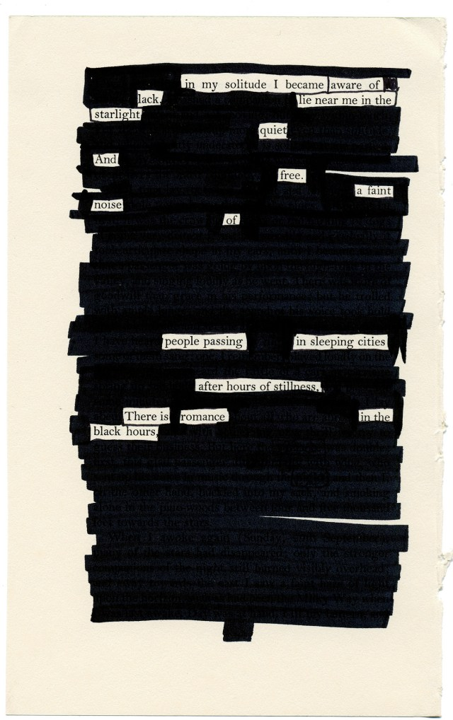What is Blackout Poetry? Examples and Inspiration  Writers.com
