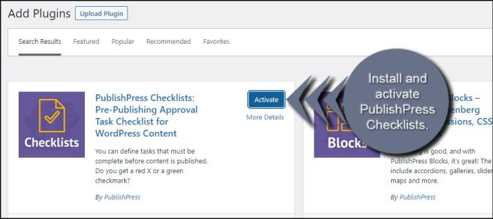 Activate PublishPress
