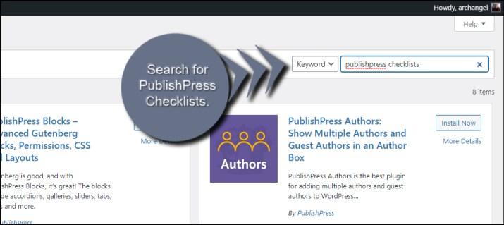 PublishPress Checklists