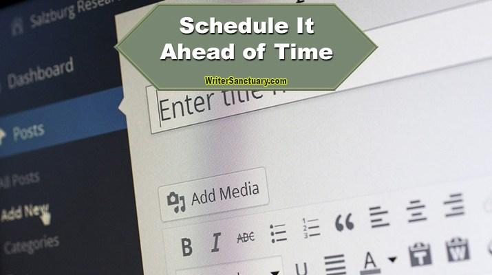 Publishing Schedule