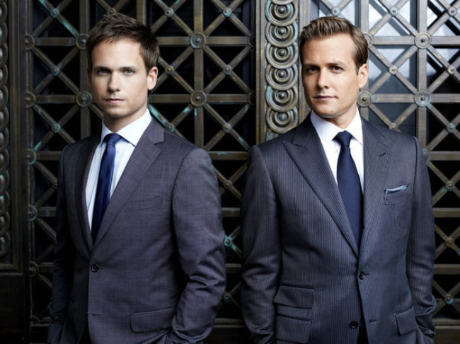 Mike Ross and Harvey Specter Suits