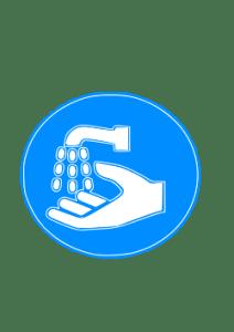 Hand Wash Sign