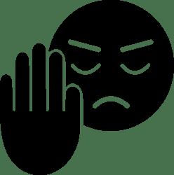 Rejection Ideogram