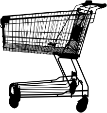 Shopping Cart Silhouette
