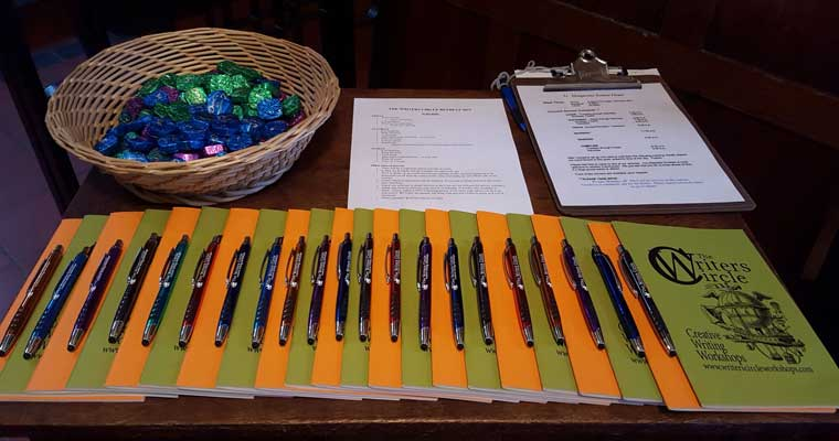 A Weekend of Peace, Companionship and Writing at The 2015 Writers Circle Retreat