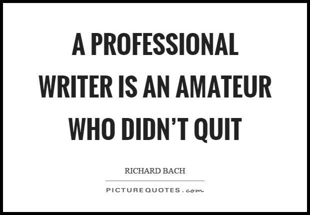 Are you ready to be a professional writer?