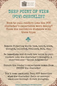 ONE STOP Deep POV Checklist