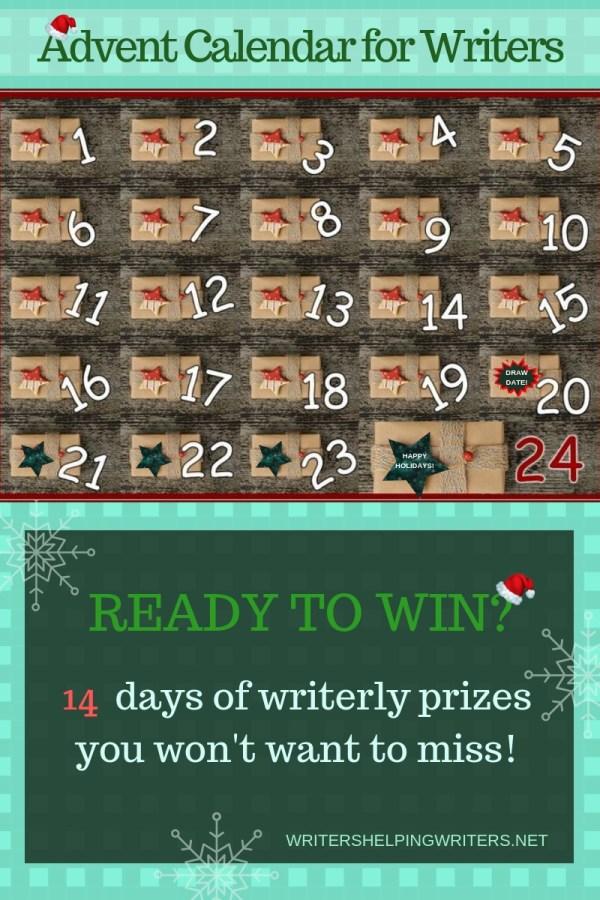Christmas Advent Calendar for Writers