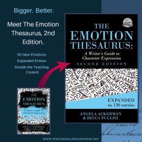 Emotion Thesaurus (Samples) ~ WRITERS HELPING WRITERS®