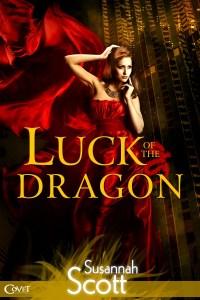 Susannah Scott, Luck Of The Dragon, book cover