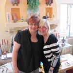 2015, April 1, Darynda and Margie, Alb.