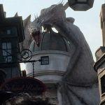 Gringott's Bank dragon, Universal Studios, Florida