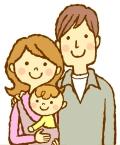 赤ちゃんとママとパパ