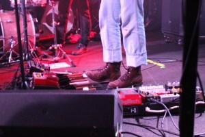 Jeff's bass guitar pedals
