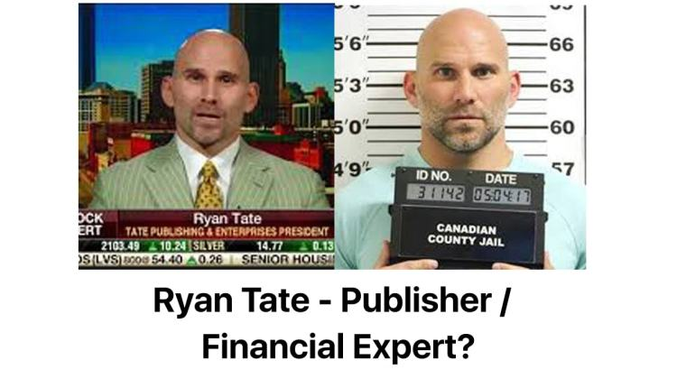 Tate Publishing Execs  Arrested (Finally!) for Embezzlement, Extortion & Racketeering. See Other Lawsuits Filed Against These Jerks! HINT: One was for (alleged) property destruction!