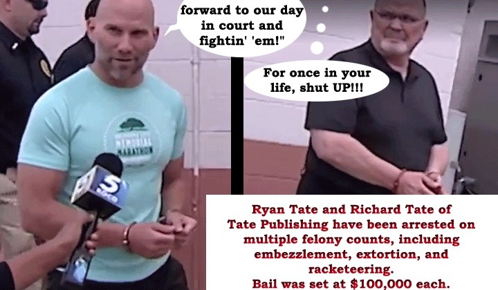 Why Hasn't Anybody Filed a Class-action Lawsuit Against Tate Publishing? Here's the Likely Answer…