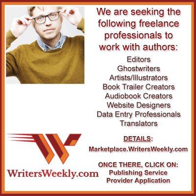 CAN YOU HELP AUTHORS? We are Seeking, Illustrators, Translators, Ghostwriters, Audiobook Creators, and more!