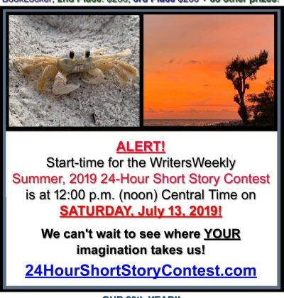 LAST CHANCE! THIS SATURDAY!! What will the Summer, 2019 24-Hour Short Story Contest Topic Be?!?!