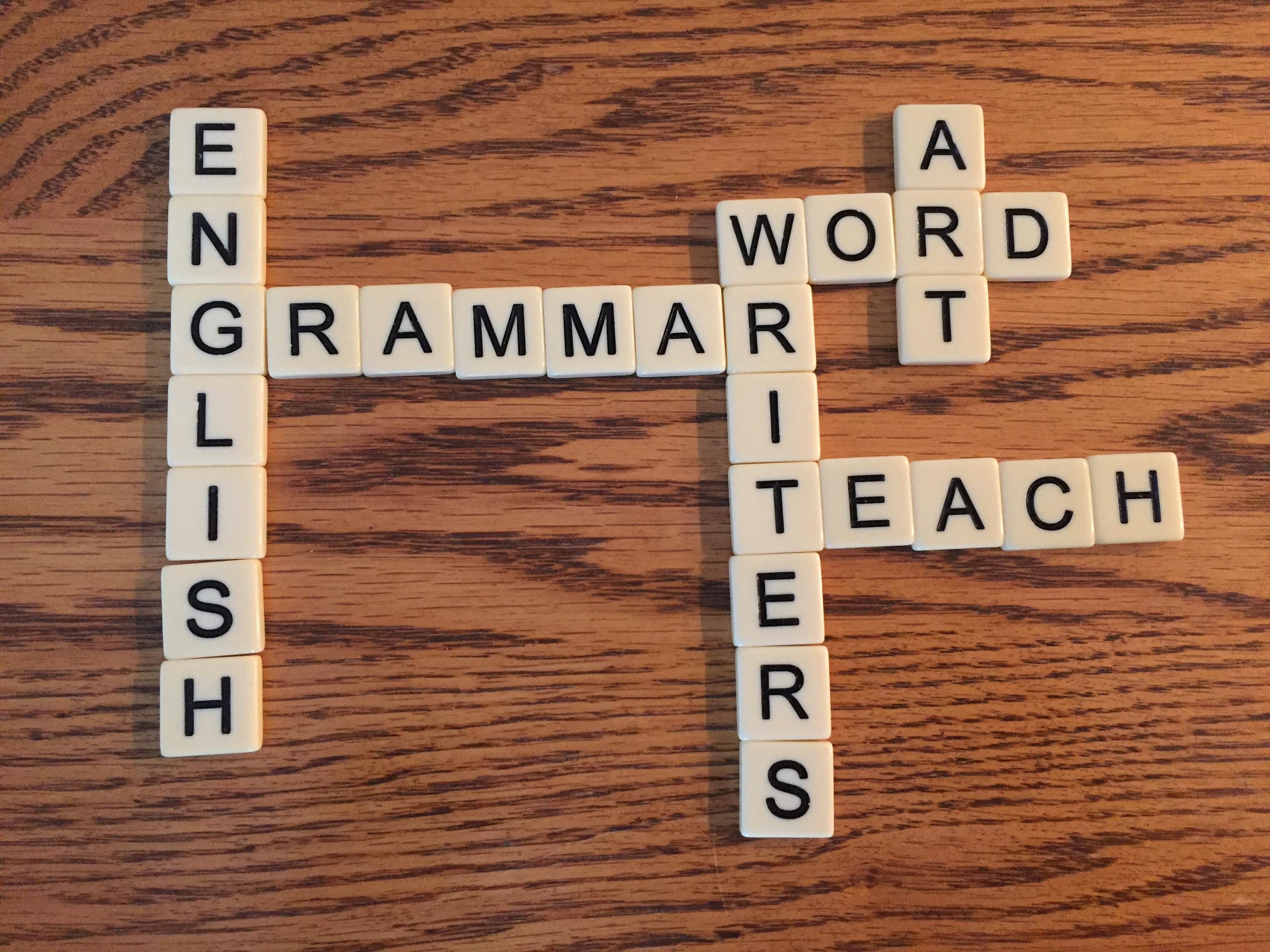 Teaching Grammar To Improve Writing