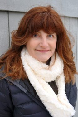 Jan O'Hara, author of OPPOSITE OF FROZEN