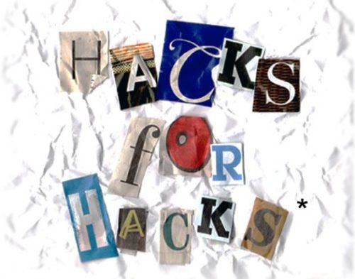 Hacks for Hacks: sense of humor required