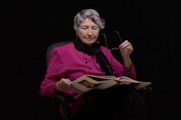 Older Woman Reading
