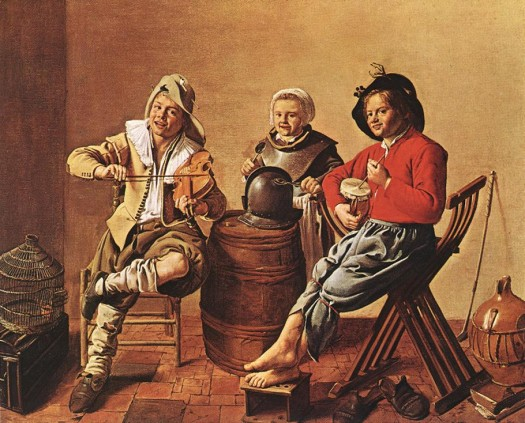 Molenaer-boys-girl-making-music-1629