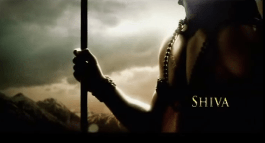 Image from the book trailer for Amish Tripathi's The Shiva Trilogy