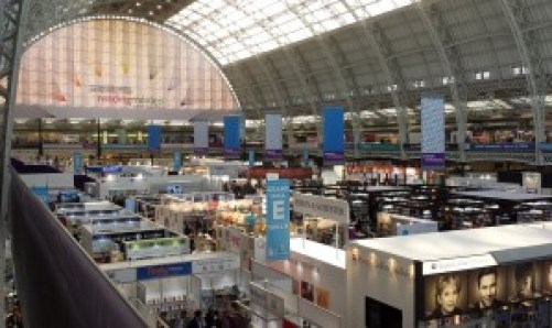 At London Book Fair 2015 in Olympia London. Photo: Porter Anderson
