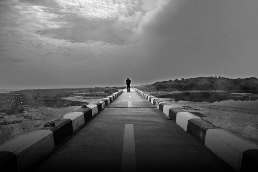 The Lonely Walk by Vinoth Chandar