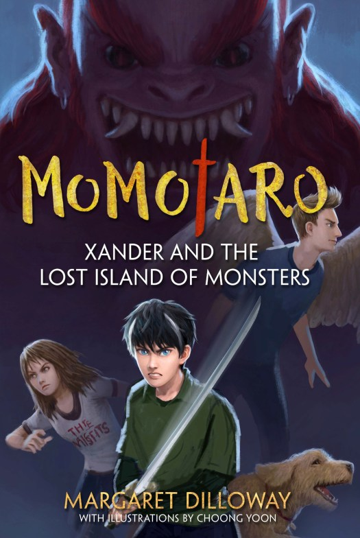 Take Five:  Margaret Dilloway and MOMOTARO: Xander and the Lost Island of Monsters