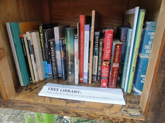 Free Books and What to Do With Them