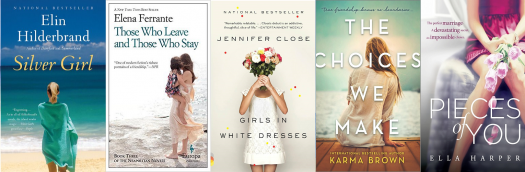 We love the authors. We love the books. But what about these covers?