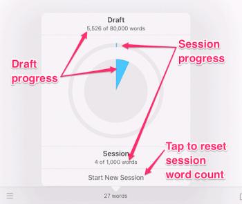 target progress chart