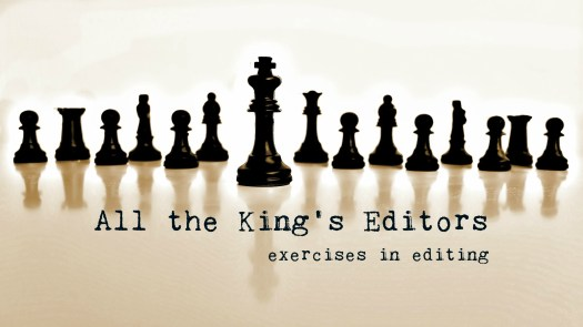 All the King's Editors: David Corbett