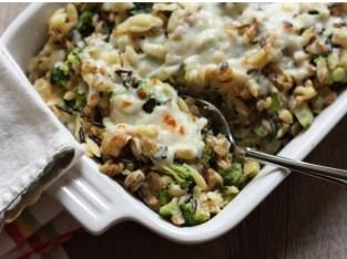 broccoli-rice bake recipe | writes4food.com