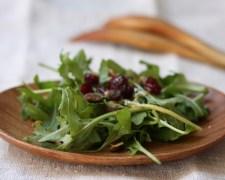 arugula cranberry pistachio salad