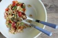 how to make a classic chopped salad