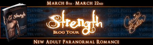 Guest Post: Carrie Butler, Author of Strength - Cover Dissection (1/6)