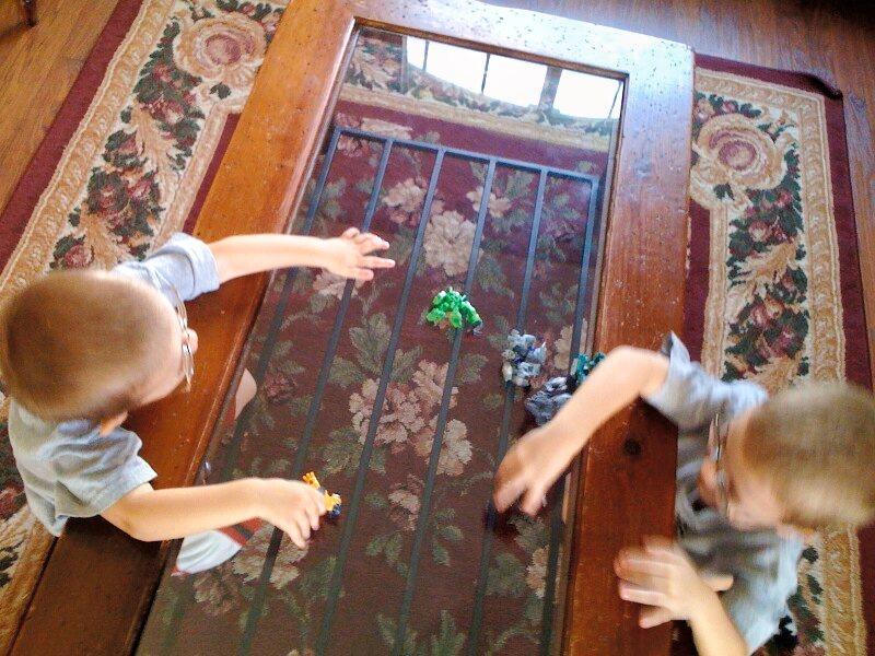 Frick and Frack at play