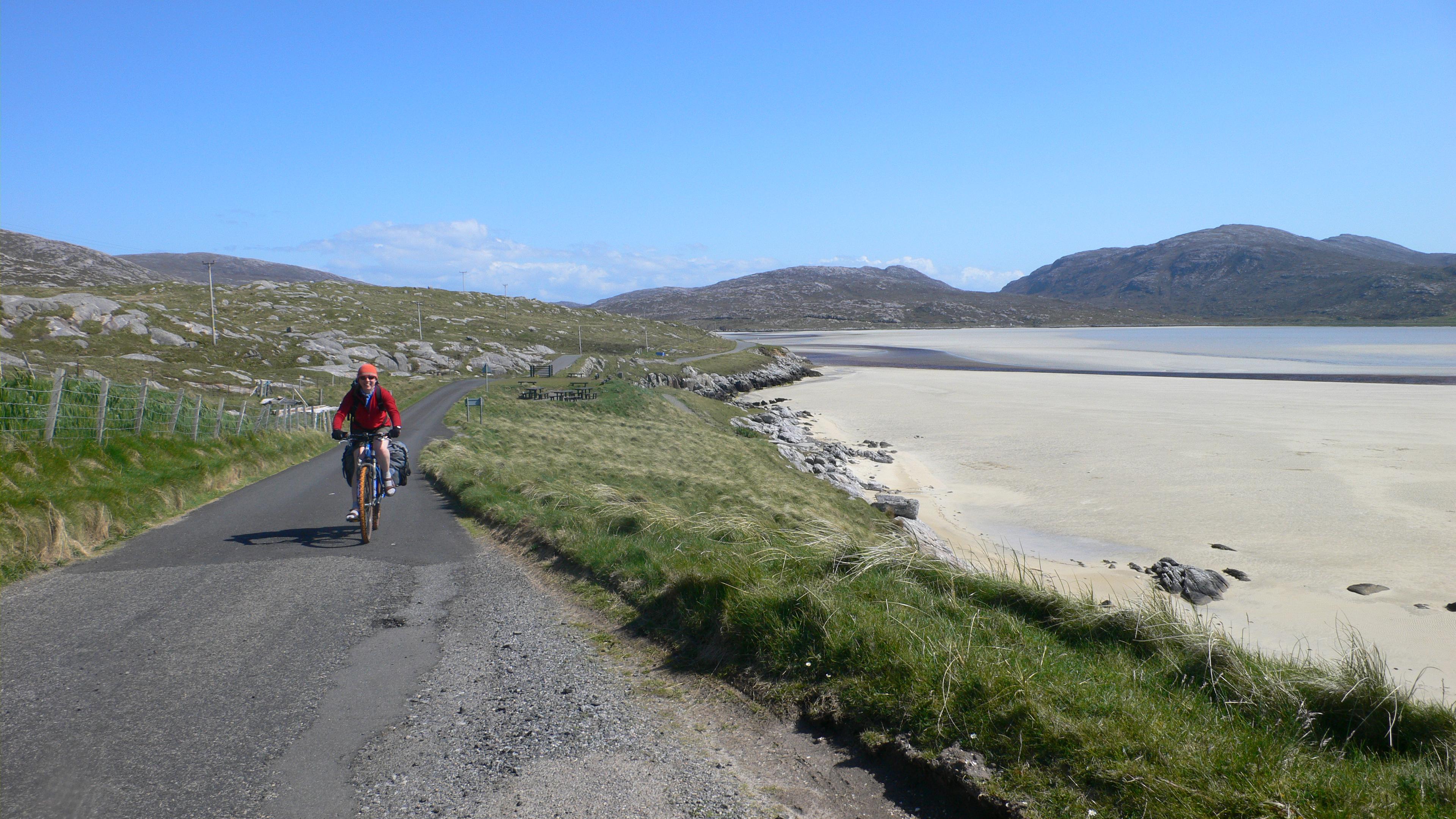 The road to Luskentyre, Harris